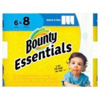 OfficeDepot.com deals on 6 Pack Bounty Essentials 2-Ply Paper Towels
