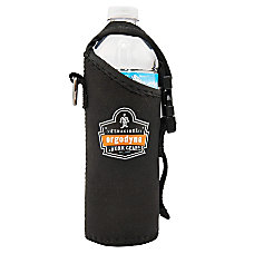 Ergodyne Squids CanBottle Holder Trap Black