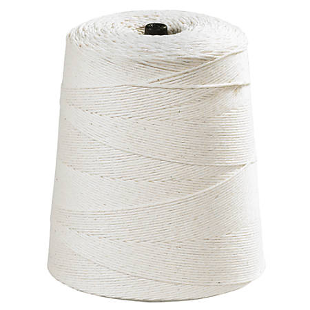 Office Depot® Brand Cotton Twine, 8-Ply, 20 Lb, 6,300', White
