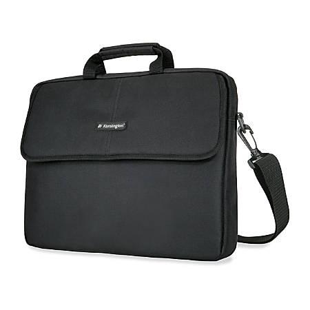 "Kensington Classic Laptop Sleeve, 17"", Black"