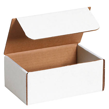 """Office Depot® Brand Literature Mailers, 3"""" x 7"""" x 8"""", White, Pack Of 50"""