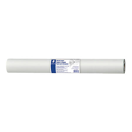 "Staedtler® Drawing Paper Roll, 18"" x 50 Yards, White"