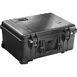 "Pelican 1560 Hard Case, 22.06"" x 17.93"" x 10.43"", Black"