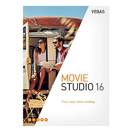 MAGIX Vegas Movie Studio 16, Traditional Disc