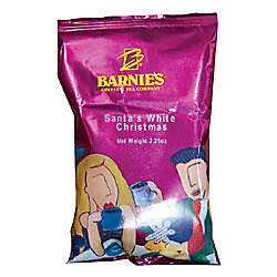 barnies santas white christmas coffee 225 oz box of 24