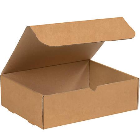 "Office Depot® Brand Literature Mailers, 13"" x 10"" x 4"", Kraft, Pack Of 50"
