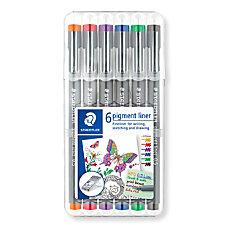 Staedtler Pigment Liner Sketch Pens Fine