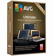AVG Ultimate 2019 Unlimited 1 Year