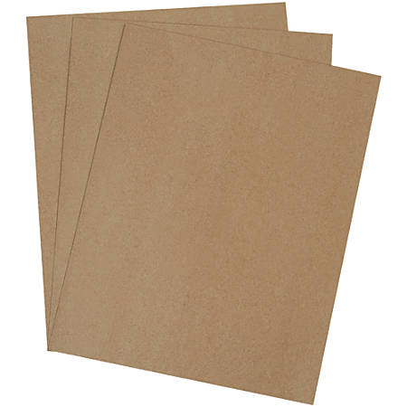 """Office Depot® Brand Chipboard Pads, 18"""" x 24"""", 100% Recycled, Kraft, Case Of 190"""