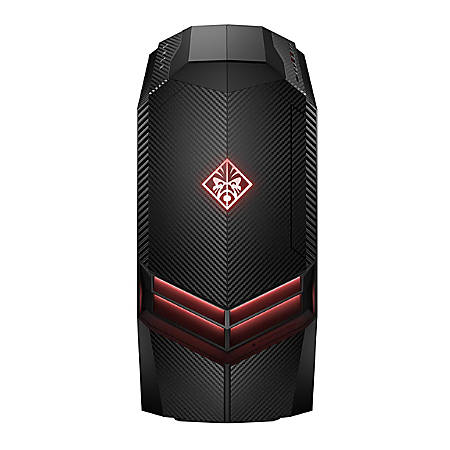 HP OMEN 880-120 Desktop PC, 8th Gen Intel® Core™ i7, 16GB Memory, 1TB Hard Drive/256GB Solid State Drive, Windows® 10 Home, GeForce GTX 1080