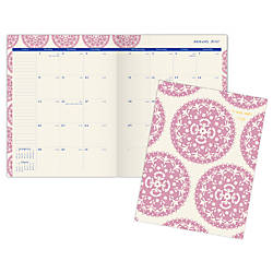 AT A GLANCE Monthly Stitched Planner