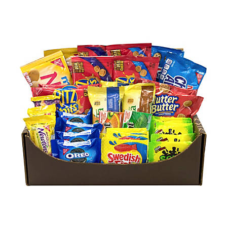 Snacks And Treats Variety Care Package, Assorted Flavors