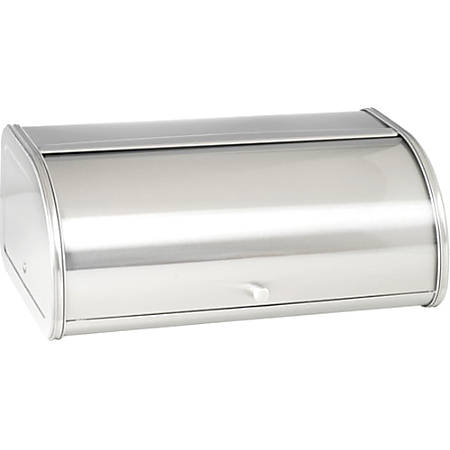 Anchor Hocking Steel Bread Box - Bread Box - Stainless Steel