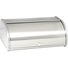 Anchor Hocking Steel Bread Box Bread