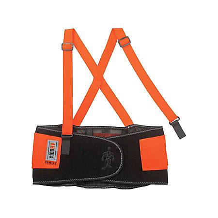 Ergodyne ProFlex Economy Back Support, XX-Large, Orange