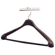 Lorell Suit Hangers 17 Black Pack
