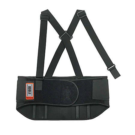 "Ergodyne ProFlex Elastic Back Support, 9"", X-Large, Black"