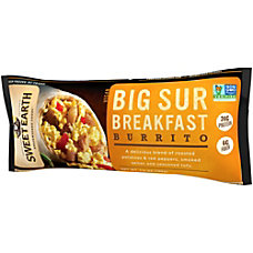 Sweet Earth Big Sur Breakfast Burritos