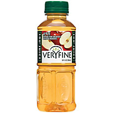 Veryfine Apple Juice 10 Oz Case