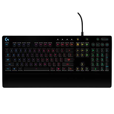 Logitech G213 Prodigy Rgb Gaming Keyboard Black 920 008083 Item 894293