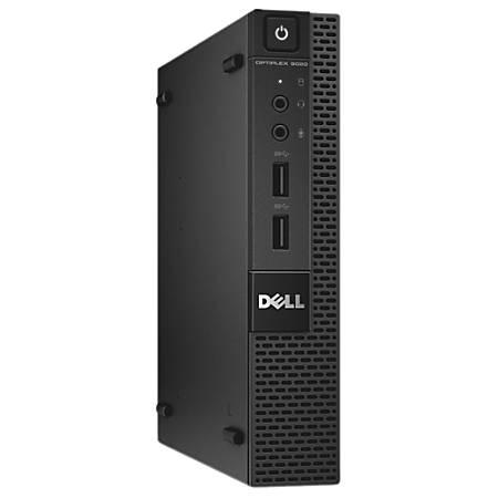 Dell™ Optiplex 9020 Micro Refurbished Desktop PC, Intel® Core™ i3, 8GB Memory, 500GB Hard Drive, Windows® 10, RF610321