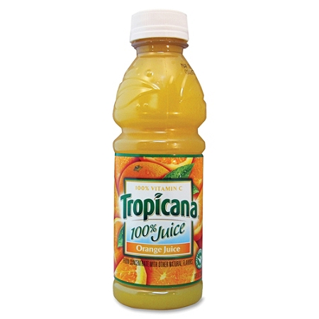 Tropicana® Orange Juice, 10 Oz. Bottle, Case Of 24