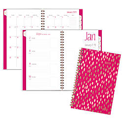 Cambridge Jam Customizable WeeklyMonthly Planner 4