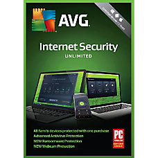Avast AVG Internet Security 2018 Unlimited