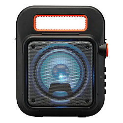 iLive Bluetooth® Wireless Tailgate Party Speaker, Black