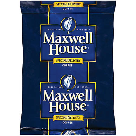 Maxwell House Special Delivery Coffee Filter Packs, 1.2 Oz, Box Of 42 Packs