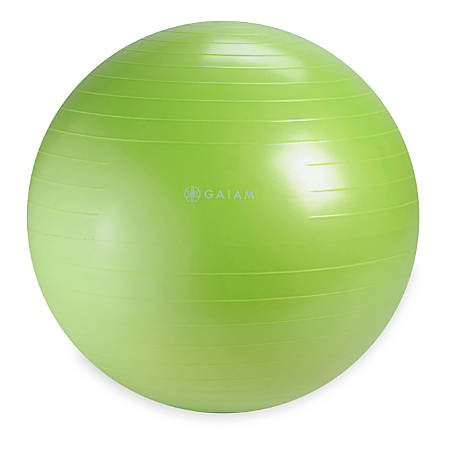 Gaiam Restore Strong Back Stability Ball Kit, Green