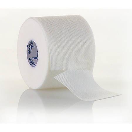"""Medline MedFix EZ Wound Tape, 4"""" x 11 Yd., White, Box Of 12"""