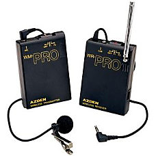 Azend Group Wireless Lavalier Microphone System