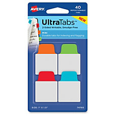 Avery UltraTabs Repositionable Mini Tabs 150