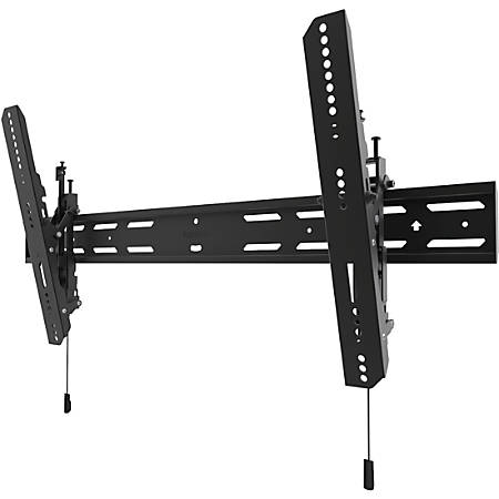 """Kanto Wall Mount for Flat Panel Display - Black - 1 Display(s) Supported90"""" Screen Support - 200 lb Load Capacity"""