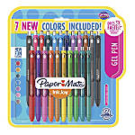 Paper Mate® InkJoy Gel Pens, Medium Point, 0.7 mm, Assorted Ink Colors, Pack Of 22 Pens