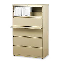 Lorell Fortress Series 36W 5 Drawer