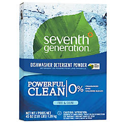Seventh Generation Free Clear Automatic Dishwasher