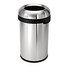 simplehuman Bullet Open Trash Can 21