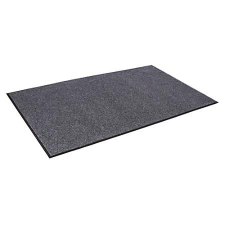 "Crown Eco-Step Wiper Mat, 48"" x 72"", Charcoal"