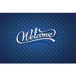 Custom Floor Decal Template FDH Welcome