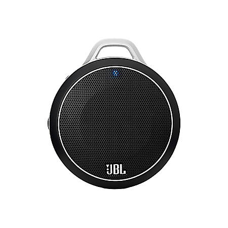 "JBL Micro Wireless Ultra Portable Bluetooth® Speaker, 6.5"" x 4.1"" x 2"", Black"