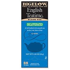 Bigelow English Tea Time Decaffeinated Tea