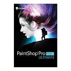 Corel Paintshop Pro 2018 Ultimate Traditional