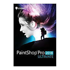 Corel Paintshop Pro 2018 Ultimate Traditional