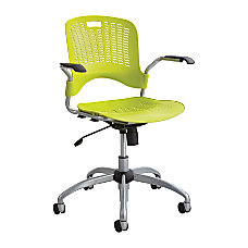 Safco Sassy Mid Back Chair Grass
