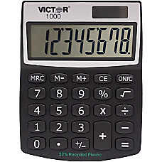 Victor 1000 Mini Desktop Calculator Large