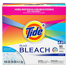 Laundry Detergent with Bleach Tide Original