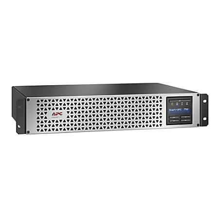 APC® Smart 6-Outlet Uninterruptible Power Supply, 750VA/600 Watts,  SMTL750RM2UC Item # 8961142