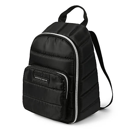 Arctic Zone Quilted Backpack, Black